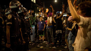 George Floyd: protests and unrest coast to coast as US cities impose curfews