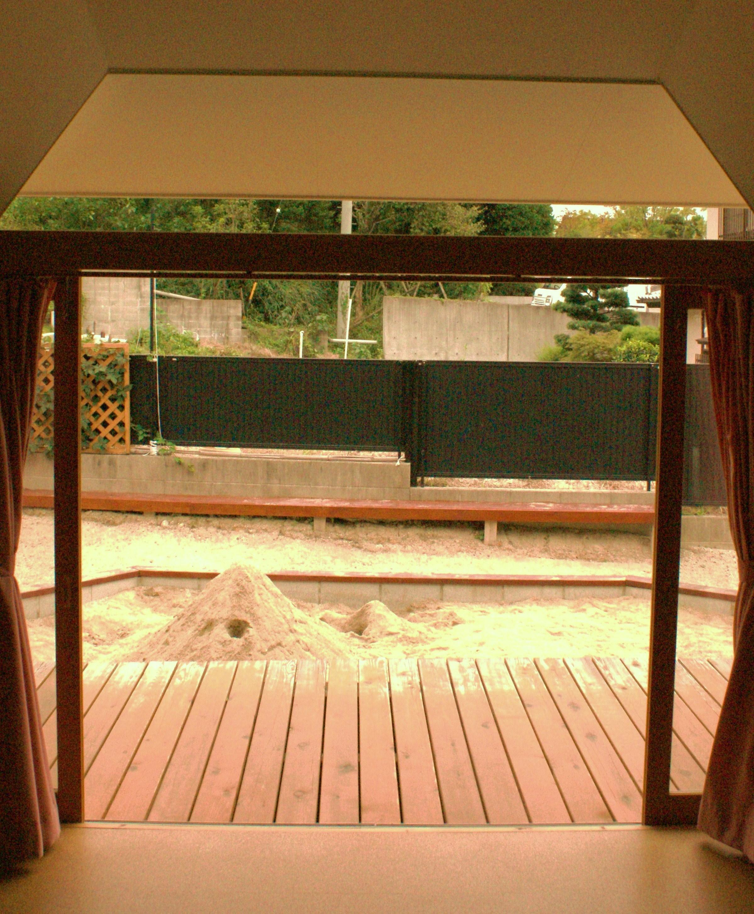 砂場・遊戯室欄間