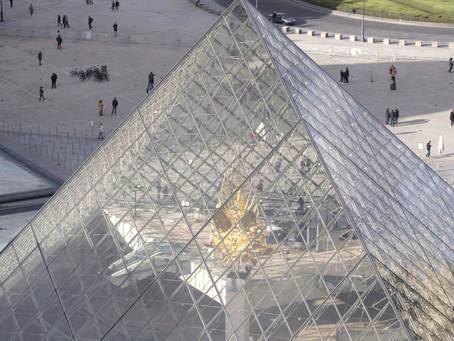 Tournage drone à Paris au Musée du Louvre !