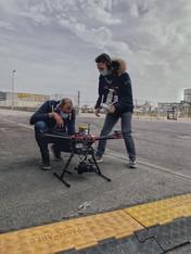 drone live broadcast