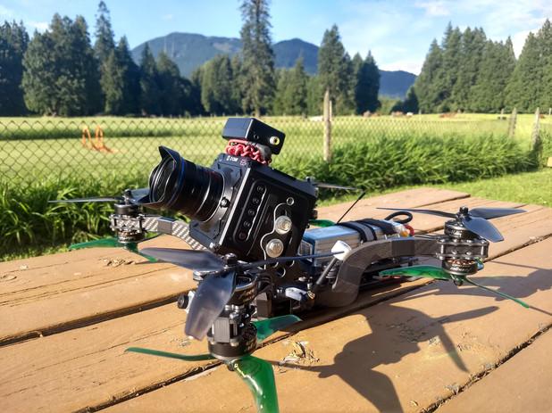 drone fpv zcam e2