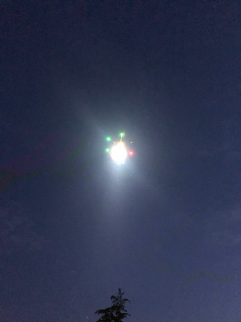 drone led lumieres