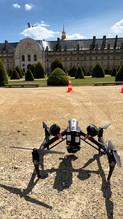 les invalides drone paris