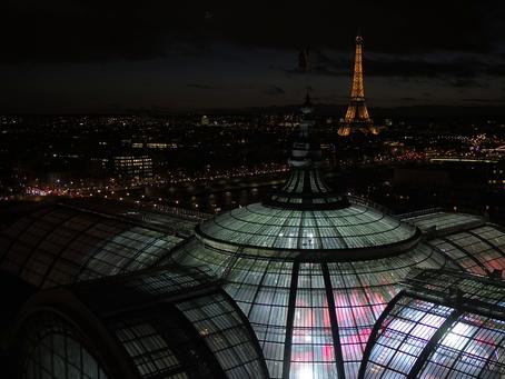 Drone à Paris pour le Ballon d Or