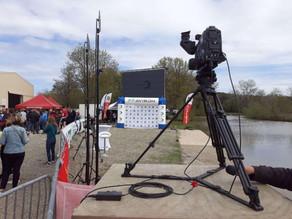 Prestation drone en direct live TV !