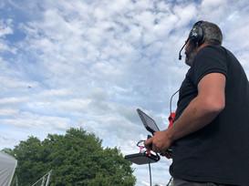 drone direct live broadcast