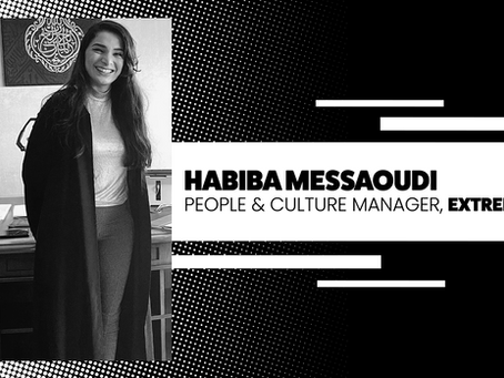 Habiba Messaoudi joins EXTREME as People and Culture Manager