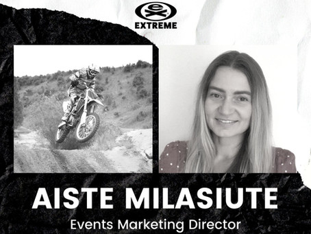 Aiste Milasiute joins EXTREME as Events Marketing Director