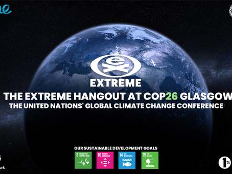 EXTREME INTERNATIONAL AT COP26 – GIVING VOICE TO THE LEADERS OF TOMORROW