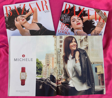 Michele Watch Ad in Harpers Bazaar