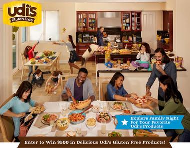 Udi's Gluten Free Food Ad