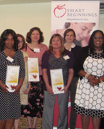 As a Star Rated Center, Learn 'n Play was recognized at an award ceremony hosted by Smart Beginnings. ​May 14, 2013​