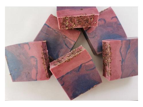 Patchouli & Lavender Soap Slice