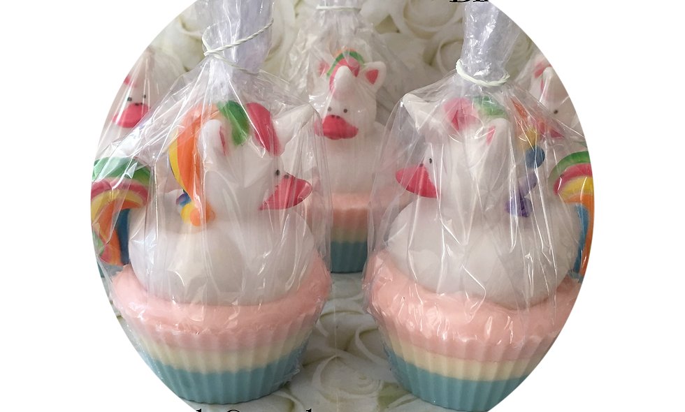 Unicorn Cupcake Soap