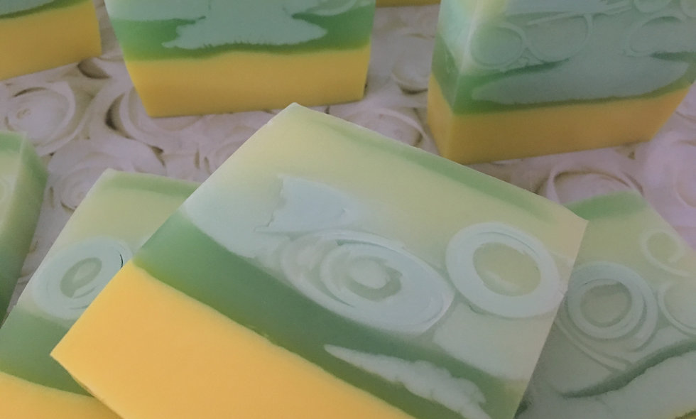 Lemon & Lime Soap Slice