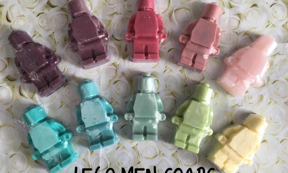 Lego Men Soaps