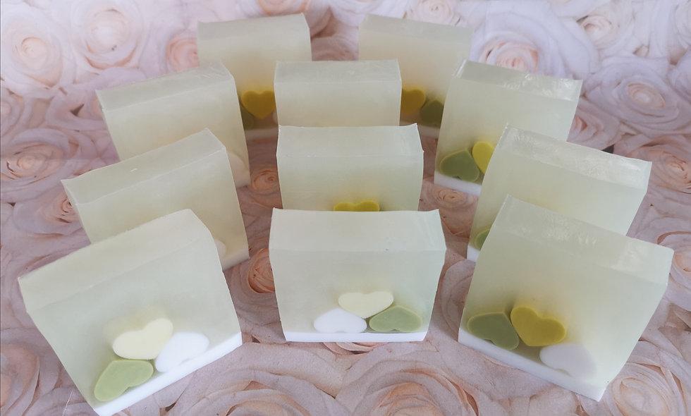 Jasmine Soap Slice