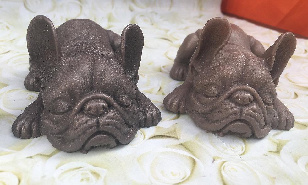 French Bulldog soap