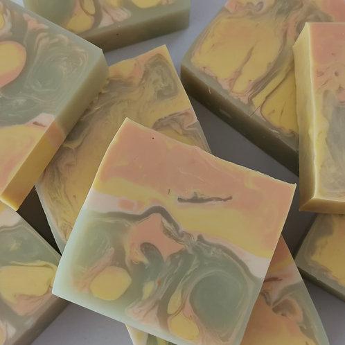 Sweet Orange, Lemon & Lime Soap Slice