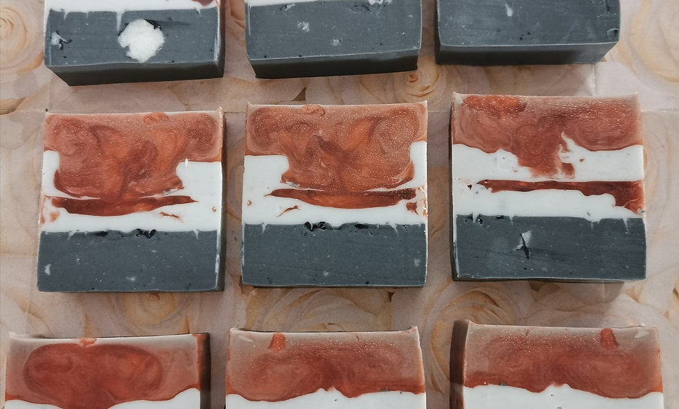 Cherry, Shea Butter & Activated Charcoal Spa Bar