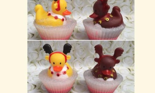 Ducky Cupcake Soaps & Bath Toy