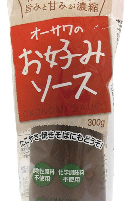 オーサワのお好みソース(有機野菜・果実使用)