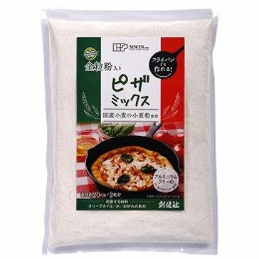 創健社 全粒粉入りピザミックス 200g