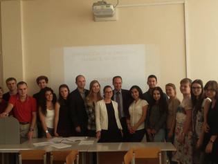 Curso sobre Fiscalidad Internacional en la Universidad de Kaliningrado