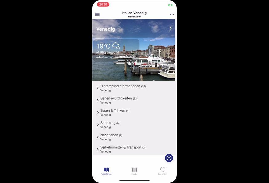 Nelles Reiseführer Apps