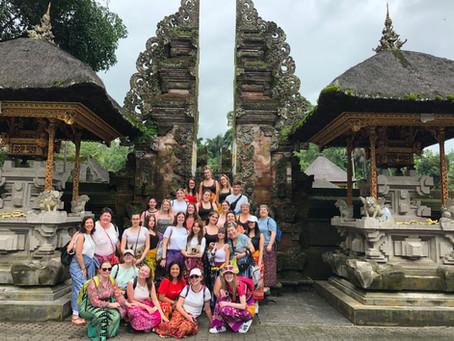 Voyage de Fin d'Etudes : les Etudiants des classes terminales  partent à la découverte de Bali