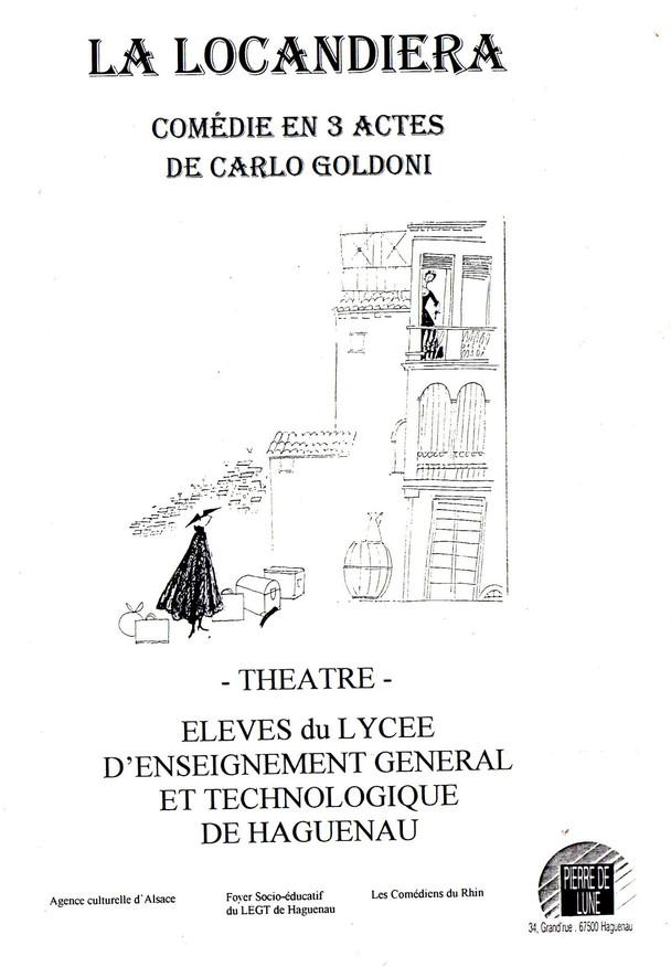 1995 La locandiera