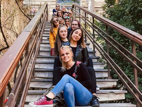 Les étudiantes de 5T du Verseau-E.L.C.E, expérimentent les Bienfaits des Thermes à Budapest.