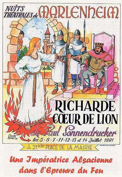 1991 Richarde coeur de lion