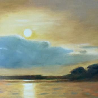 Moon Over Appalachicola 24x36