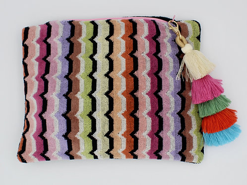 Missoni Beach Towel Clutch
