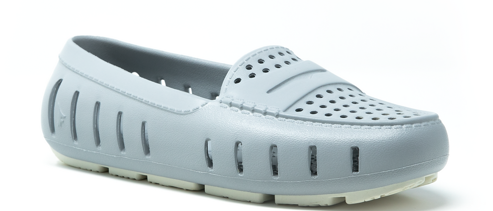 Floafers-Womens Harbor Mist Gray+Coconut