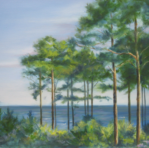 Sea Island Pines 24x36 SOLD