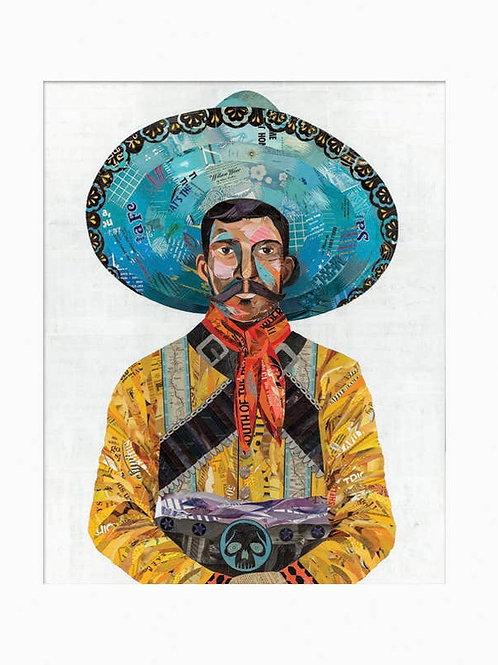 Dolan Geiman Unframed Print-Vaquero Skull