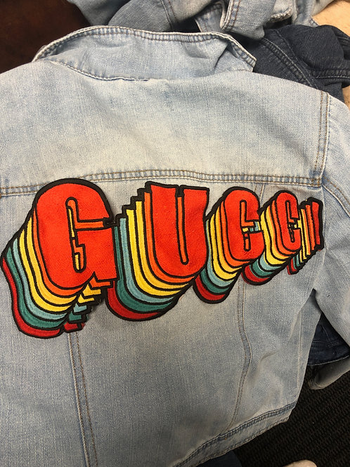 Gucci Echo Denim Jacket