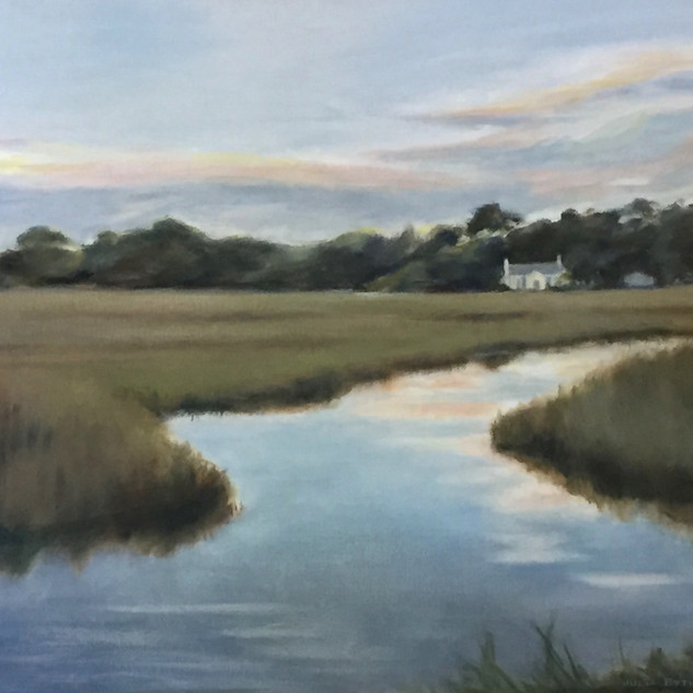 White House End of Creek 24x36