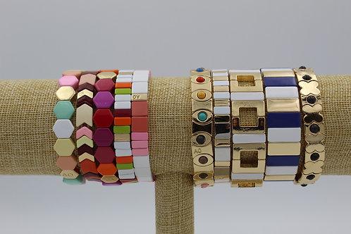 Tile Stretch Bracelets