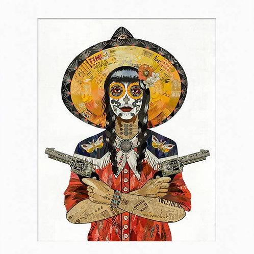 Dolan Geiman Unframed Print-Vaquera Night Wing