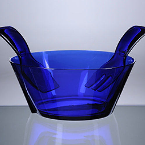Acrylic Salad Bowl with Servers