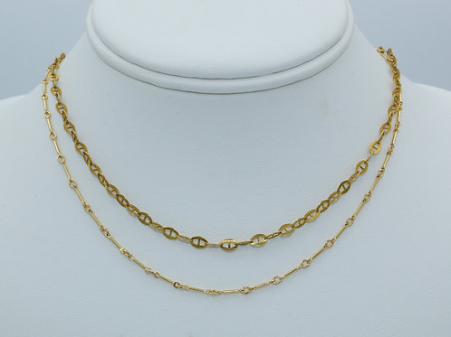 Layering Chain Necklaces
