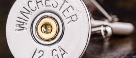 Winchester 12 Gauge Shotgun Cufflinks
