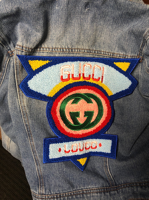 Gucci Triangle Denim Jacket