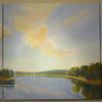 Triptych Mural 48x120