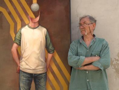 Tournage du film hommage au peintre Boris Daniloff
