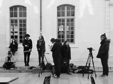 Tournage - Atelier cinéma avec le conservatoire en partenariat avec l'IMCA