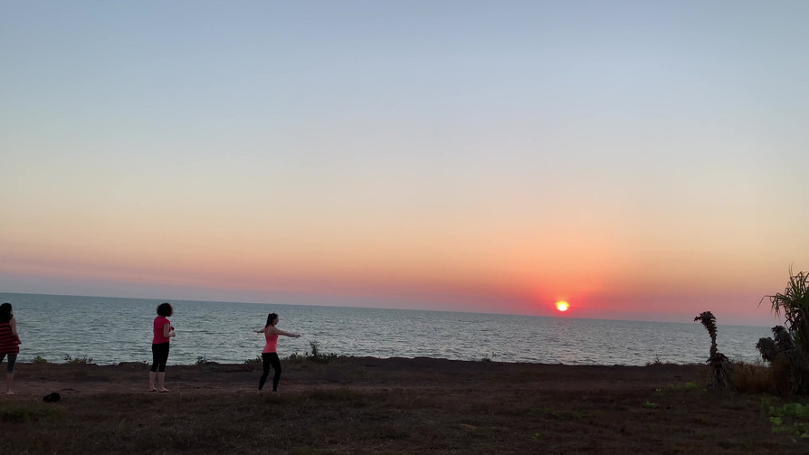 Sunset Chakra Dance.MOV
